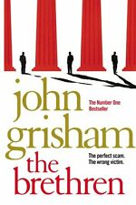 JOHN GRISHAM _____ THE BRETHREN  ____ BRAND NEW ____ FREEPOST UK
