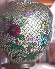 vase verre cloisonné