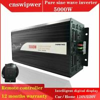 5000w Reine Sinuswelle DC 2/24/48V BIS AC 220/230V  Wechselrichter Fernbedienung
