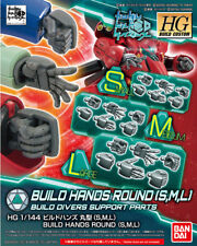 Build Hands Round (S, M, L) GUNPLA HG High Grade Build Custom 1/144 Gundam