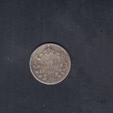 1911 CANADA 5 CENTS SILVER COIN