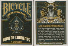 CARTE DA GIOCO BICYCLE WAR OF CURRENTS,poker size