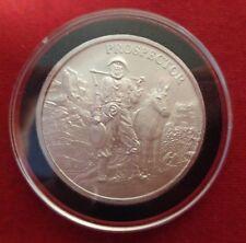 Rushmore Round .999 Fine  Silver  In  Black Ring Airtite 2 ounce Mt