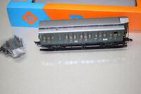 Roco 44207A 3-Achser Personenwagen 1.Klasse A3 mit Bremserhaus DB Spur H0 OVP