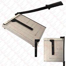 PDR*TAGLIA CARTA TAGLIERINA PAPER  CUTTER FOGLI A4 A5 GHIGLIOTTINA  IN METALLO