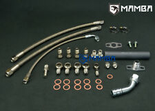 MAMBA Turbo Oil & Water Line Kit For NISSAN SR20DET S13 S14 S15 w/ Garrett GT28R