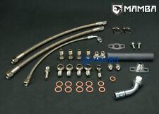 MAMBA Turbo Oil & Water Line Kit For NISSAN SR20DET S13 S14 S15 w/ Garrett GT28R