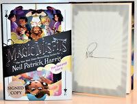 **SIGNED 1st Print** The Magic Misfits #2 AUTOGRAPHED Neil Patrick Harris NEW hx