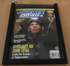 WWE Smackdown Magazine - Inaugural Issue - Holiday 2003 - Signed by John Cena!