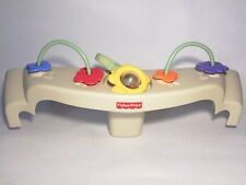Fisher Price Nature's Touch Papasan Cradle Swing Replacement Beige TRAY seat