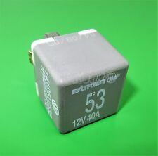 61-Audi VW Seat Grey-53 Fuel Pump/ Wiper 4-Pin Relay 141951253B Bitron OMP 12V
