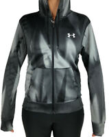 New With Tags Womens Under Armour Cold Gear Logo Athletic Gym Full Zip Hoodie