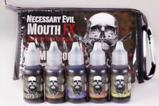 Mouth Fx, 5 Color Mouth And Teeth Stain, Sweet Vanilla Flavour