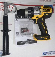 """DEWALT DCD998B 20V 20 VOLT Brushless 1/2"""" Hammer Drill Power Detect New"""