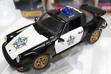 Franklin Mint 1:24 Scale PORSCHE CARRERA TARGA 911 POLICE CAR