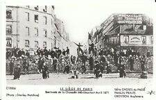 France Postcard - Le Siege De Paris - Barricode De La Chaussee Avril 1871   U838