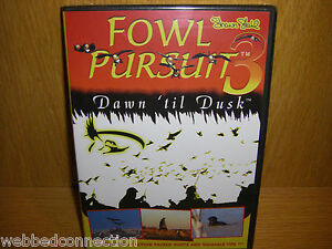Shawn Stahl RNT Avery Fowl Pursuit Vol # 3 Goose Call DVD Dusk Til Dawn Calling