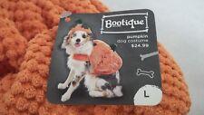 "Bootique Dog Pet Costume Pumpkin Hat Large New 17-19"" Halloween 2687310 Cat"