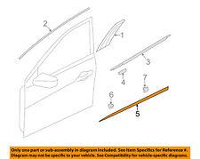 HYUNDAI OEM 12-14 Azera Front Door-Lower Molding Trim Left 877113V000