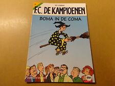 STRIP / F.C. DE KAMPIOENEN 22: BOMA IN DE COMA   Herdruk 2011
