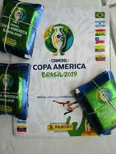 75 Sticker Packs PANINI  Copa America BRAZIL 2019 + soft album