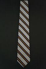 J Crew Classic Silk Striped Tie Handmade USA $50 MSRP Mens Pants Shirt J. Crew