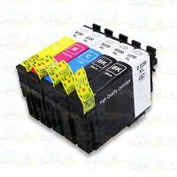 5PK 220XL Ink For Epson XP-320 XP-420 XP-424 WF-2630 WF-2650 WF-2660 WF2750 2760