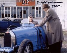 POIROT 8x10 photo signed by Philip Jackson and Hugh Fraser - Ref:2