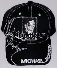 NWOT MICHAEL JACKSON KING OF POP STITCHED CAP HAT VERY RARE TRIBUTE COLLECT NOW!