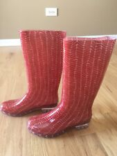 New TOMS Women's Cabril Rain Boots Size 6