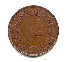 1919  Canada Large Cent--Fabulous Details !!
