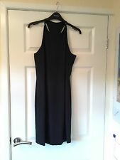 Ladies Black Evening Dress, Principles, Size 12, Knee Length