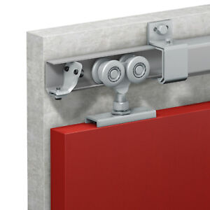 Sliding door kit for barn, stable and commercial doors - very heavy duty 1000kg