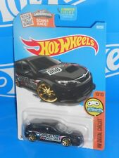 Hot Wheels 2016 Digital Circuit #30 Subaru WRX STi Kmart Black w/ 10SPs