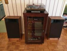 Custom Made Mahogany Speaker Stands for Realistic Mach One