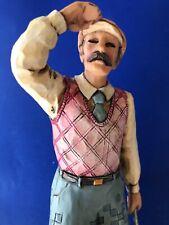 "Jim Shore ""Nostalgic Golfer"" #4005450 Heartwood Creek figurine"