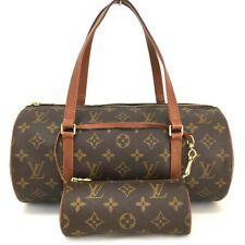 100% Authentic Louis Vuitton Monogram Papillon Hand Bag w/Pouch / 2aDBI