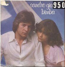 """SANDRO GIACOBBE - Bimba - VINYL 7"""" 45 LP 1977 VG+/VG- CONDITION"""