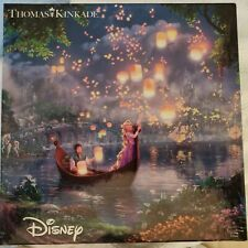 Thomas Kinkade Disney Tangled  Puzzle 750 Pc Painter of Light Rapunzel Complete