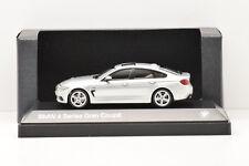 BMW 4 SERIES GRAN COUPÉ GLACIER SILVER iScale 1/43 NEUVE EN BOITE PROMOTIONNELLE