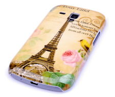 Schutzhülle f Samsung Galaxy S Duos S7562 Cover Tasche Case Paris Eiffelturm