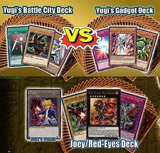 YuGiOh Yugi's 3 Legendary Decks (YGLD Battle City + Gadget) +(Ldk2 Joey) SEALED