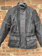 Frank Thomas Aqua Pore Motorcycle Bike Jacket Black Mens XL