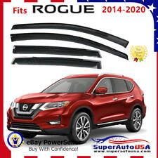 For Nissan Rogue 14-2019 Oejdm Window Visor Vent Sun Shade Rain Guard Deflectors (Fits: Nissan)