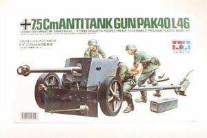 Tamiya 1/35 scale German 75mm Anti Tank Gun