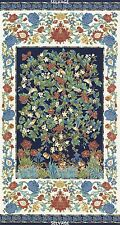 Navy Essex Panel by Chong-A Hwang for Timeless Treasures