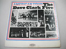 """""""DAVE CLARK FIVE AMERICAN TOUR"""" ORIG MID-60s MONOGRAPH 33 RPM LP IN SLEEVE"""