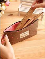 Women's Small Wallets Long Coin Purse Make Up Brush Bag Clutch Pouch Little Case