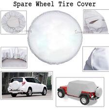 """White Spare Wheel Tire Cover Spare For Suzuki X-90 1996-1998 Tire Cover 26"""" 27"""""""