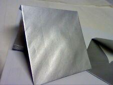 METALLIC SILVER Diamond Flap-gummed ENVELOPES 100gsm for INVITATION CARDS PK-25